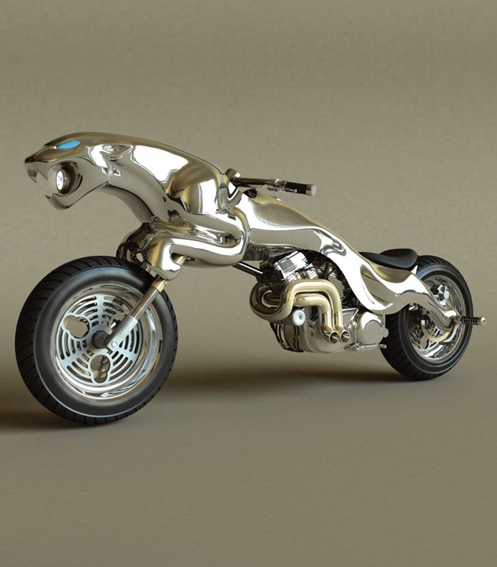 Cool Motorcycle Based On Famous Logo - Personal Blog of