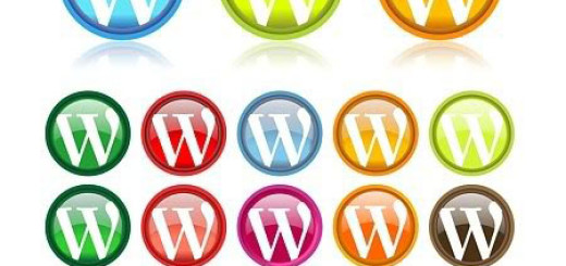 free wordpress icons in 30 diferrent colors