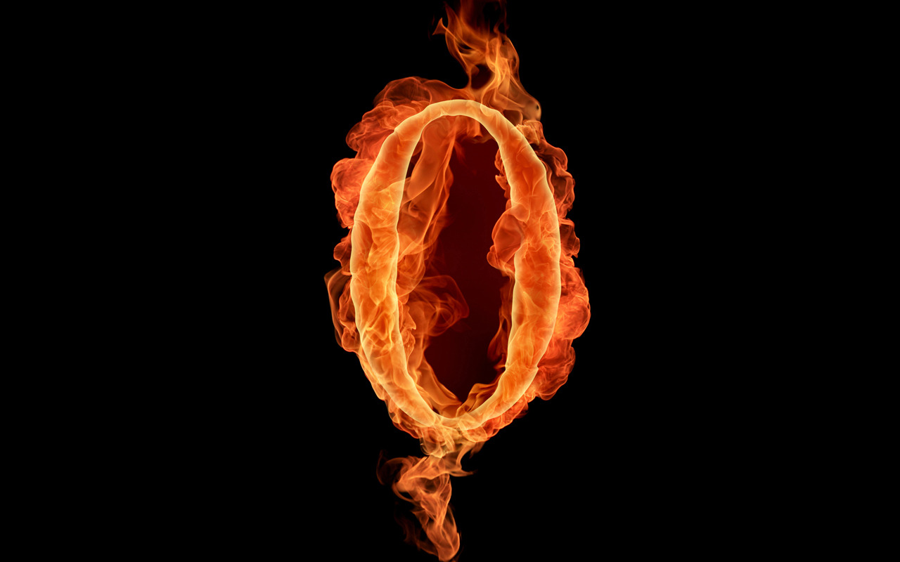 Realistic fiery letters and numbers personal blog of - Number wallpaper ...