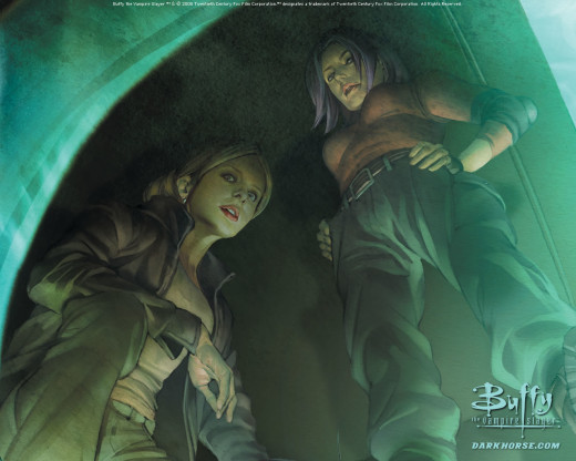 50+ Beautiful Artworks Of Buffy The Vampire Slayer ...