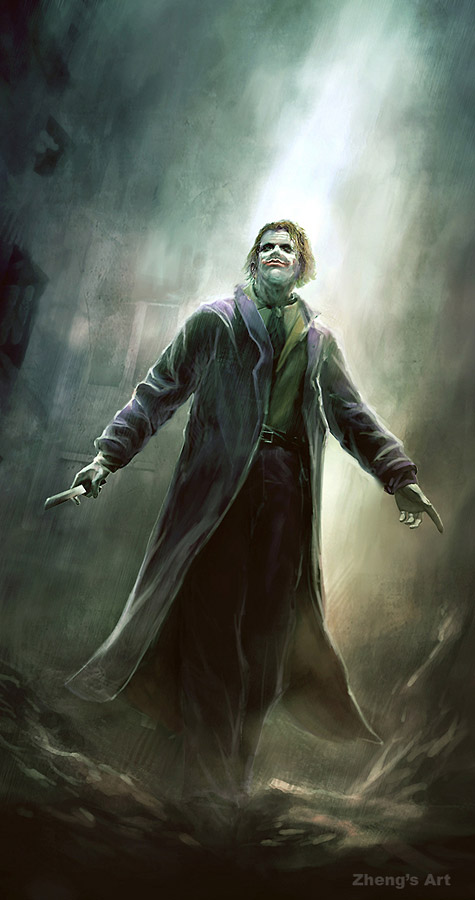 Beautiful Heath Joker Fanart Nolan Fans Forums
