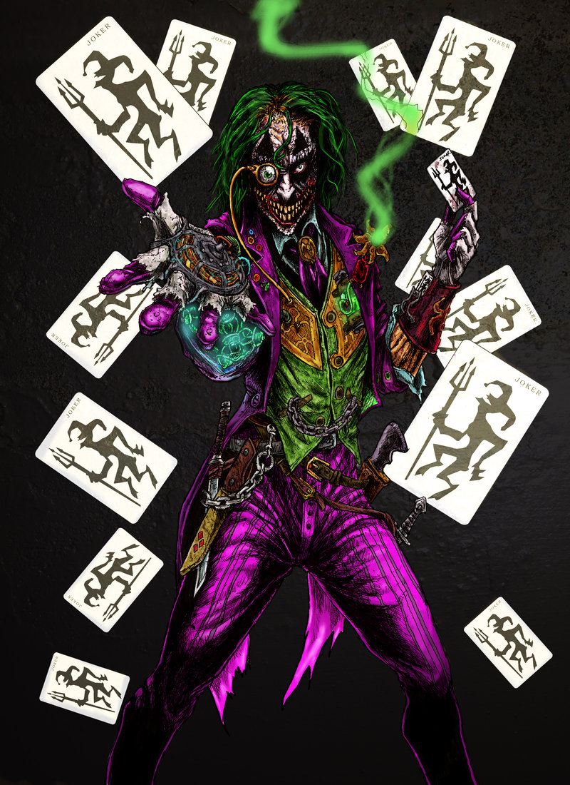 Interesting Joker Artworks Why So Serious Personal
